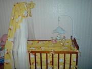 Продается детская кроватка с матрасом.