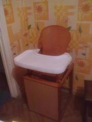 продам стульчик для кормления б/у