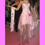 Вечернее платье корсет со стразами