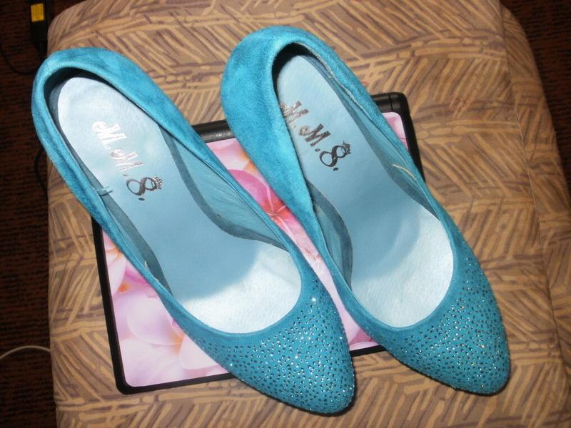 Бирюзовая обувь купить