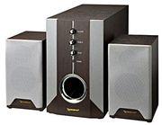 Деревянная акустическая система 2.1 Gembird WCS-801