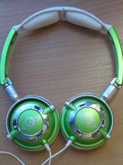 Продам наушники Skullcandy Lowrider green