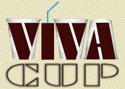 Изготовим картонные стаканы  VIVA CUP