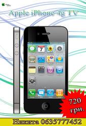 Apple iPhone 4g TV 2 sim 3.5мм Наушники