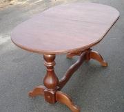 Овальный обеденный стол  из дерева Рио