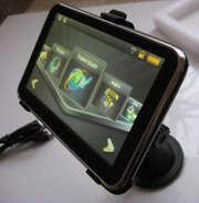 Автомобильный GPS 5.0 - 4 Gb с Bluetooth и AV-in