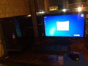 Компьютер с монитором Asus 22
