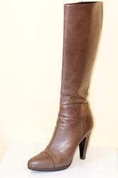 Сапоги женские Prada Италия Цвет коричнево-золотистый Размер 38...