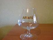 Набор бокалов для коньяка С логотипом АРАРАТ.Производство ФРАНЦИЯ 6 шт