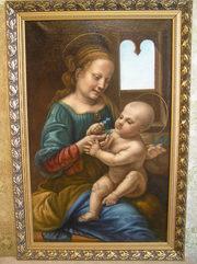 картина Мадонна-Бенуа (авторская копия)
