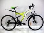 новый горный подростковый двухподвесный Велосипед Azimut Blaster