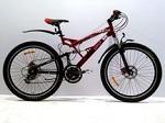 новый горный двухподвесный Велосипед Azimut  Rock