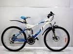 новый горный подростковый двухподвесный Велосипед Azimut Race