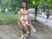 продам вечернее, выпускное платье 46р, производства Турция.