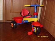 Велосипед Smart Trike Plus 3 в 1 желто-красный