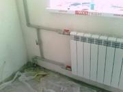 Замена батарей отопления.  Харьков.