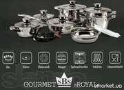 Набор gourmet royal kochtopfset 16 tlg