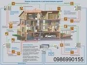 Проектирование и монтаж системы безопасности,  видеонаблюден«Умный Дом»