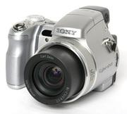Фотоаппарат Sony DSC-H9 + VF-74MP + VCL-DH1774 + VCL-DH0774