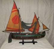 Модели рыбацких лодок Средиземного моря