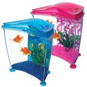 Аквариум Hagen Marina Cool Goldfish Pink 6, 7 Kit розовый, синий