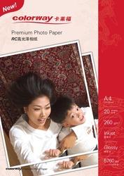 260г суперглянцевая фотобумага (на базе RC) из Китая