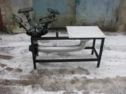 Оборудование для шелкотрафаретной печати с вакуумным прижимом