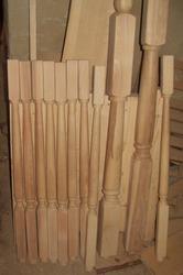 Заготовка под балясины для лестницы,  брус дубовый