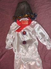 Снеговик костюм праздничный