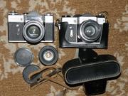Два б/у пленочных зеркальных фотоаппаратов  Зенит