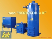 КТ-500: котел на щепе,  опилках,  пеллетах 500 кВт