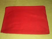 Продам красную тонкую трикотажную ткань