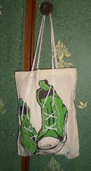 Продам стильную холщевую сумку