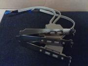 Продам выносные USB материнской платы в тыльную,  переднюю панели корпуса