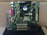Продам материнку Intel D845GVHZ + CPU(box)
