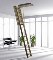 Чердачные лестницы, стройматериалы.
