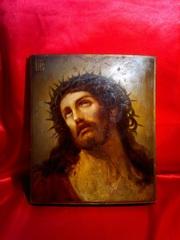 Икона Иисус Христос,  19 век