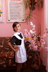 Школьная форма СССР первоклассницам