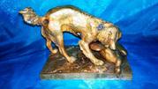 Бронзовая статуэтка Охота