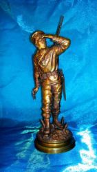 Бронзовая статуэтка Французский солдат