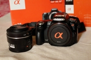 продам зеркальную фотокамеру sony SLT a35