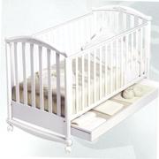 продам детск кроватку-качалку Pali(итал) бела, б/у