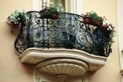 Порошковая покраска кованых изделий, оконных решеток, лестниц и огражден