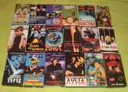 Распродаю видеокассеты с фильмами,  мультиками
