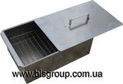 Продам мангал-чемодан,  коптильня стальная бытовая