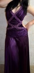 Продам вечернее платье,  42 р,  ручной работы