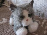 интерактивная кошка Furreal tiger electronix . ну просто как живая!