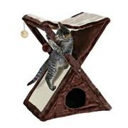 Trixie Miguel Когтеточка для кошек с домиком,  гамаком