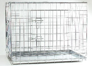 Pet Pro клетка двухдверная для собак и котов,  цинк Размер 109х69х75 см