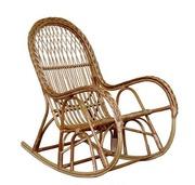 Кресло-качалка из лозы КК-4/3,  Кресло качалка из лозы,
